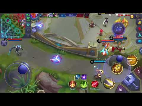 Top 1 Fanny Japan 2days Without practice I'm back — Mobile Legends — Yasue Normal Gameplay