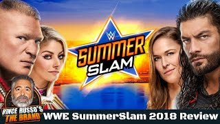 WWE SummerSlam 2018 Full Show Review w/ Vince Russo & Jeff Lane