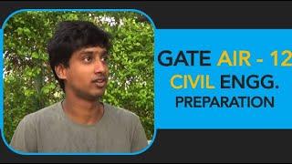 Jitendra, GATE AIR 12, Civil Engineering, IIT B