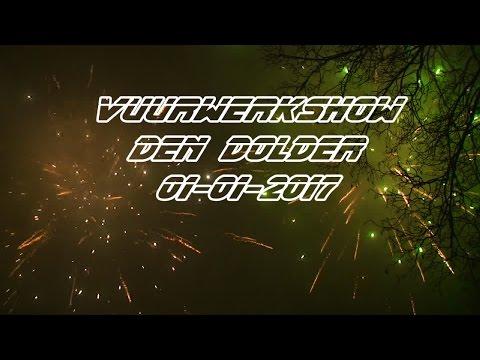 Vuurwerk show 01-01-2017 Den Dolder (HD)