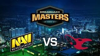 Natus Vincere vs. Mousesports - Cobblestone - Group D - DreamHack Masters Las Vegas 2017