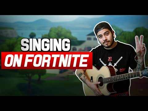 singing to GIRLS on FORTNITE!