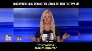 Conservative Logic: We LOVE Free Speech, But Shut The F@*K Up!