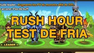[Summoners War] Rush hour : Du C2 au G2 ? Test de Fria !