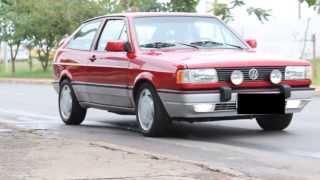 (Clip) Gol GTI 2.0 Turbo vermelho 1993.