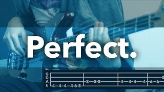 Perfect - Ed Sheeran (Bass Cover +TAB)