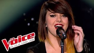 Lady Gaga - Poker Face | Cécilia Pascal | The Voice France 2013 | Blind Audition