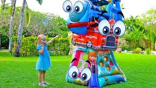 Funny Jamping Toys Video for Children