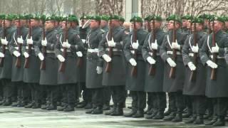 Gentiloni a Berlino - L'arrivo alla Cancelleria federale