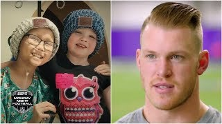 Vikings TE Kyle Rudolph created a place where sick kids can just be kids | Monday Night Countdown