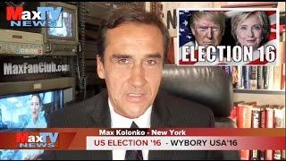 US Election'16 Sex, Lies &Videotapes - Skandal w wyborach w USA - Max Kolonko Mówi Jak Jest