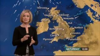 Sarah Keith Lucas BBC Evening Weather 2016 10 07