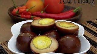 Tips Resep dan Cara Membuat Telur Lo ( Telor Kecap Oriental )