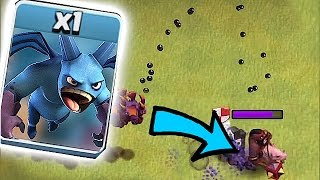 "NEW MINION ATTACK!?!😀 DON""T TRY TO OUTRUN IT!!!🔸Clash Of Clans"