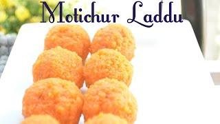 Quick N' Easy Motichur Laddu Recipe