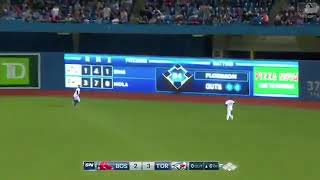 Kevin Pillar diving catch to rob Mookie Betts