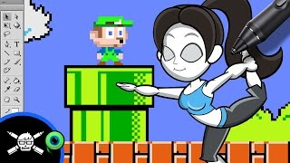 The Making of - Jack Septiceye Vs. Super Mario Maker