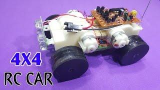 How To Make A Mini RC Car 4x4