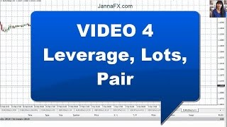 Forex for Beginners, What is Leverage, Lot, Currency Pair