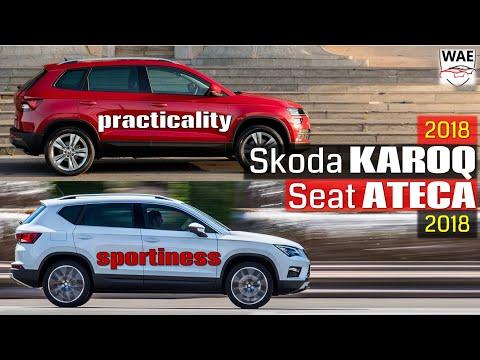 2018 Skoda Karoq vs 2017 Seat Ateca (technical comparison)