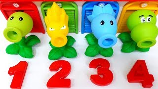 Plants Toys numbers 1234 for Kids Children Toddlers Video for Kids