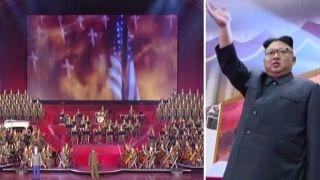 Kim Jong Un enjoys propaganda video depicting bombing of US
