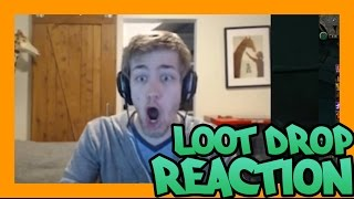 INSANE LOOT DROP REACTION!