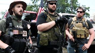 Interview: III% Militia Group Guards Gettysburg Memorial