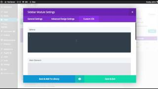 The Divi Builder Sidebar Module