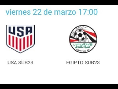 Xxx Mp4 22 03 2019 Pinatar Football SUB23 USA EGYTP 3gp Sex