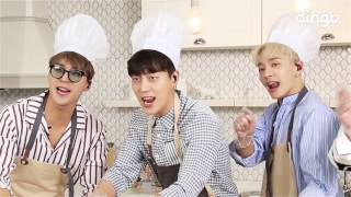 [ENG SUB] 170404 Dingo Cooking Live - HIGHLIGHT