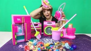 Oyuncaklar ile Temizlik Vakti   Eğlenceli Çocuk Videosu   EvcilikTV