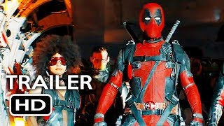 Deadpool 2 Official Teaser Trailer #4 (2018) Ryan Reynolds Marvel Movie HD