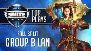 SMITE Pro League 2016 - Group B LAN Top Plays (Fall Split)