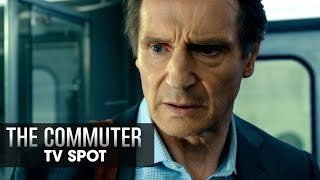 "The Commuter (2018 Movie) Official TV Spot ""Suspense"""" – Liam Neeson, Vera Farmiga, Patrick Wilson"