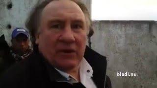 Gérard Depardieu s'installe au Maroc avec sa femme et s'achète une vache
