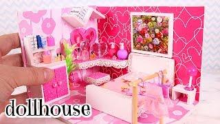 DIY Miniature Dollhouse Girly Room [Not a Kit]