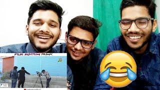 Indian React On Film Audition Prank By Nadir Ali | M Bros