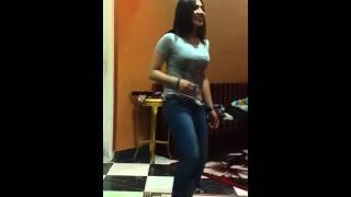 Arabic girl dance