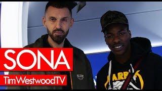 Sona on Ginger, new music Pepe, No Wahala, Sneakbo, UK - Westwood