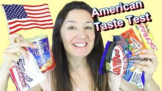 AMERICAN CANDY TASTE TEST Skybar Cherry Mountains and more
