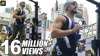 Tiger Shroff's Hardcore Treadmill Workout At 16.2 KM/PH