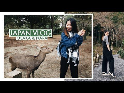 Japan Vlog 2016 (Making My Own Instant Ramen & Petting Deer!)