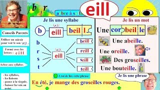 Apprentissage de la lecture Maternelle CP en Français # eill (95)