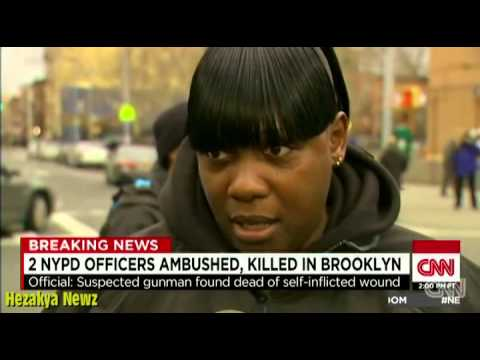 2 NYPD Officers SHOT & KILLED EXECUTION-STYLE Inside Their Patrol Car In REVENGE For ERIC GARNER!!