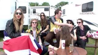 Glastonbury 2013 - Palma Violets vs Haim - NME