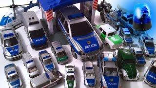 Police Car Collection - Polizei Autos