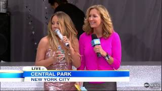 Mariah Carey Wardrobe Malfunction 2013: During NYC