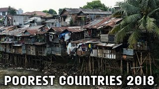 Top 10 Poorest Countries In The World 2018