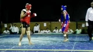 মেয়র মোহাম্মদ হানিফ কাপ ২০১৬ Wushu Sanda Abu Sayed (BJMC) vs BGB Semi Final (56kg)